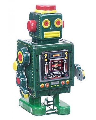 McGreen Machine Robot Tin Toy