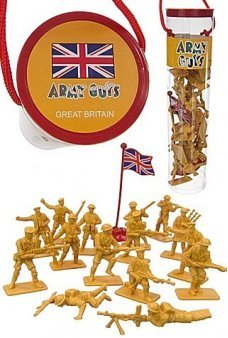 Army Guys British Soldiers in Tube