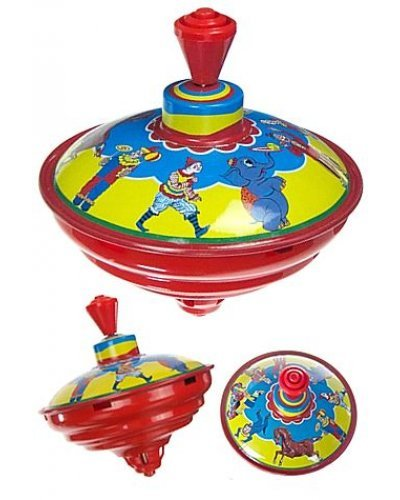 Circus Clown Classic Tin Top Musical
