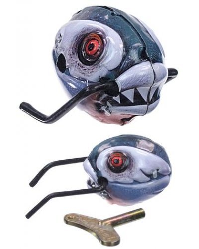 Piranha Wild Wind Up Tin Monster Fish