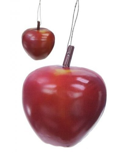 Red Delicious Apple Tin Ornament