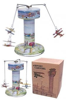 Tin Toy Carousel Air Show European Planes