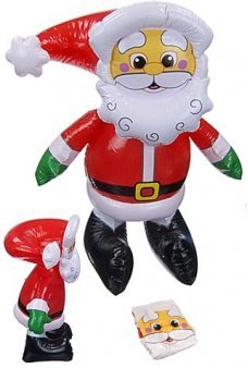Jolly Santa Claus Inflatable 21 inch