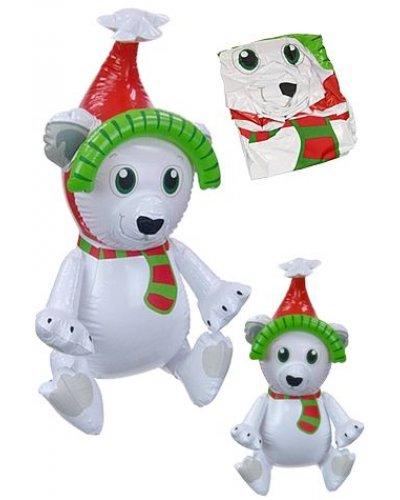 Polar Bear Christmas Inflatable 23 inch