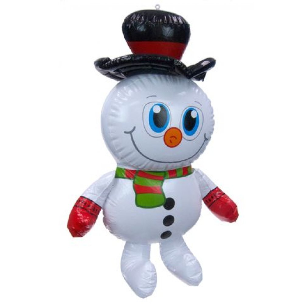 Christmas Snowman : Inflatable 23 inch : Christmas Blow Up : Large ...