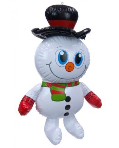 Christmas Snowman Inflatable 23 inch