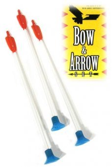 3 Extra Sof Tip Arrows for Bow Set