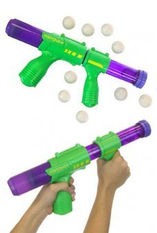 Pop Shot Ball Shooter Green Purple