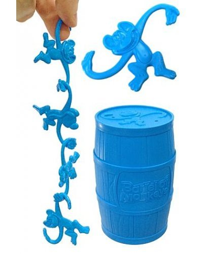 Barrel of Monkeys Bright Blue