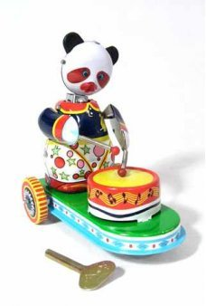 Circus Panda Drumming Cart