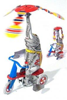 Elephant Jumbo on Trike