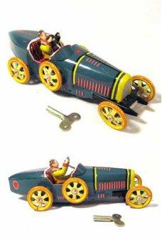 Tin Toy Bugatti T35 Racer Windup