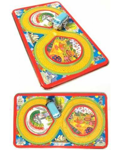 World Traveler Tin Toy Set