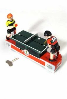 Ping Pong Match Tin Toy
