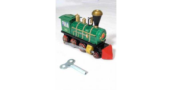 Classic 1850 Green Train : Classic Tin Train