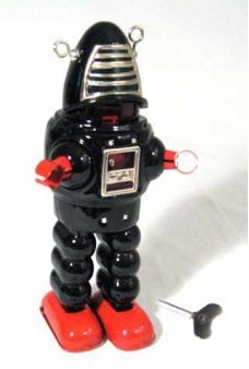 Planet Robot Black the Original Robby
