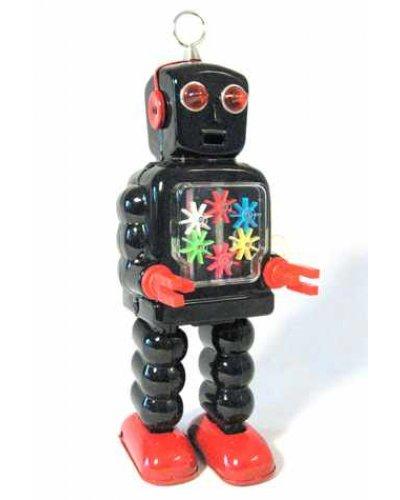 High Wheel Robot Black