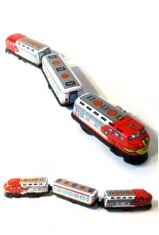 Express Train Classic Wind Up Tin Toy