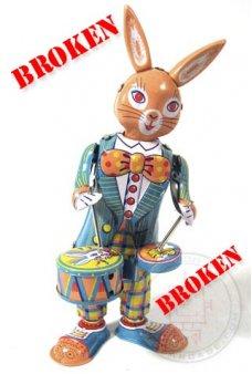 Drumming Happy Bunny ***Broken