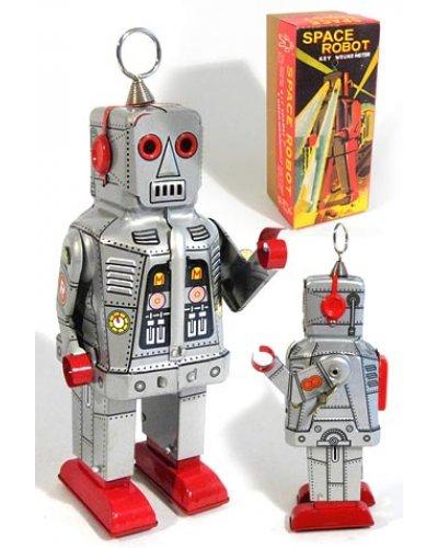 Space Ring Robot Silver Yoshiya Sparky