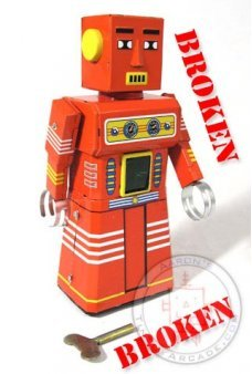 Red Chief Robot ***Broken