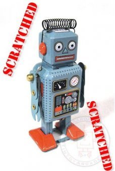Mini Radiocon Robot ***Scratched