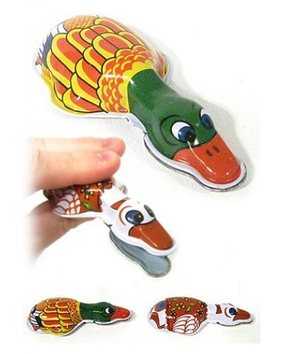 Duck Clicker Colorful Classic Tin Toy