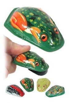 Deluxe Frog Clicker Tin Toy Treasure
