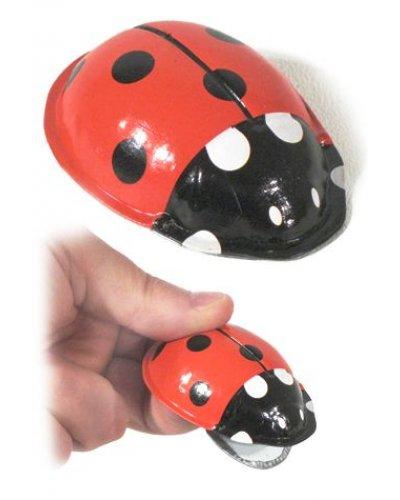 Laci Ladybug Tin Clicker