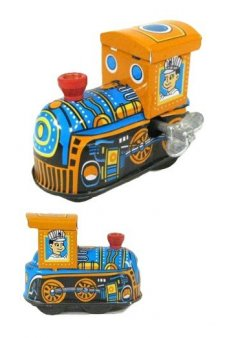 Tiny Train Tin Toy