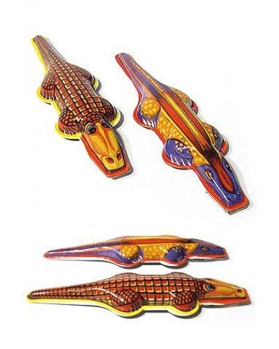 Crocodile Clicker Classic Tin Toy Gator