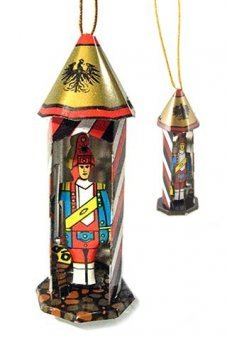 Toy Soldier Tin Christmas Ornament