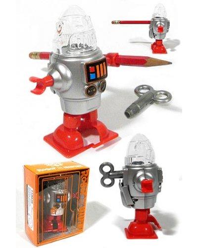 Robby Silver Robot Sharpener
