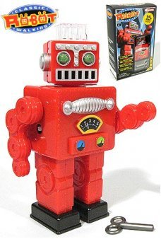 Red Robot Puzzle Walking Windup