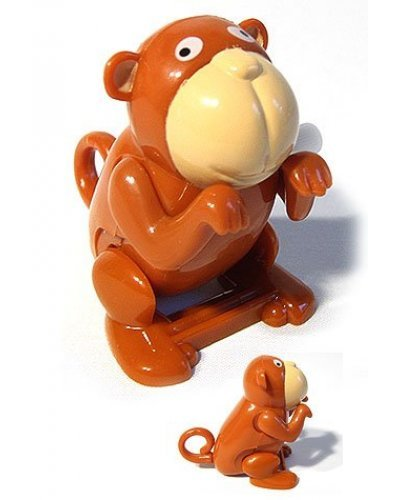 Flippin Monkey Plastic Wind Up