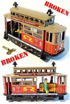 San Francisco Cable Car ***Broken
