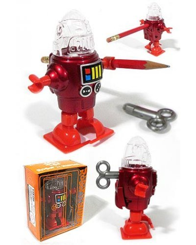Robby Red Robot Sharpener