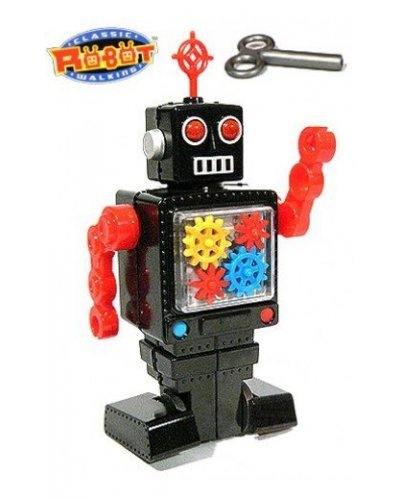 Gears Robot Black Walking Puzzle
