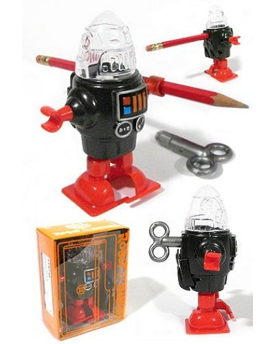 Walking Robby Robot Sharpener Wind-Up