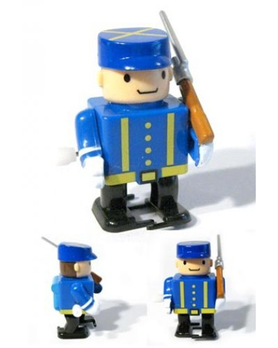Captain Mason Civil War Marching Soldier