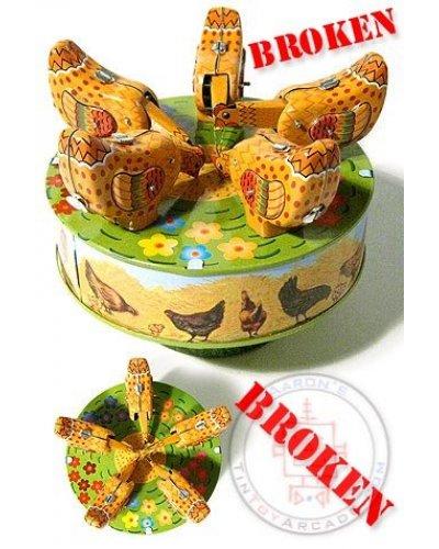 Pecking Chickens Carousel ***Broken