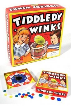 Tiddledy Winks Board Game
