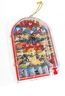 Jungle Hunt Pinball Ornament