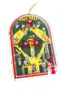 Baseball Pinball Ornament