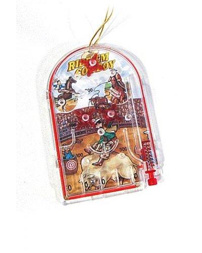 Ride Em Cowboy Pinball Ornament