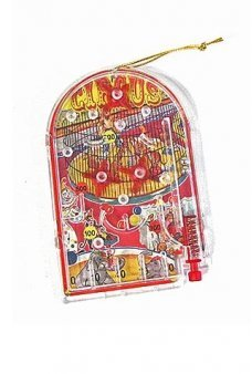 Circus Pinball Christmas Ornament