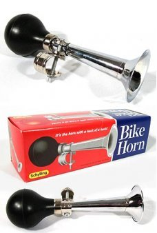 Bike Horn Black and Chrome
