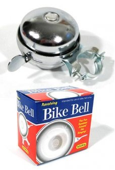 Bike Bell Chrome Ring Revolver