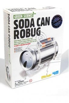 Soda Can Robug Recycle Green Kit