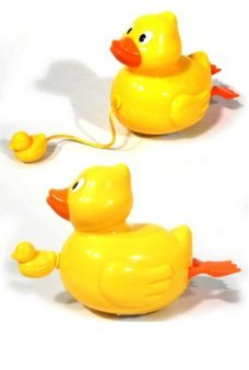 Large Duckie Water Windup Pull String